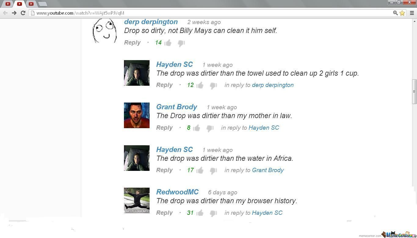 Awesome Youtube Comment