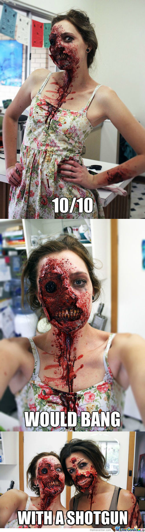Awesome Zombie Makeup