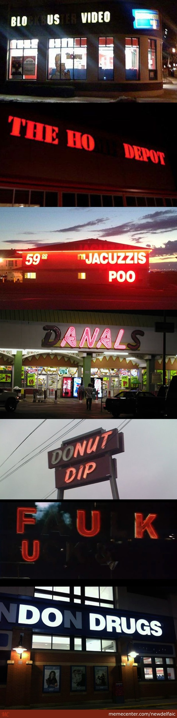 Awful Sign Blow-Outs