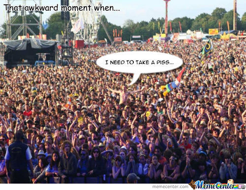 Awkward Moment On A Concert