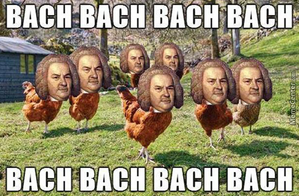 Bach The Chicken
