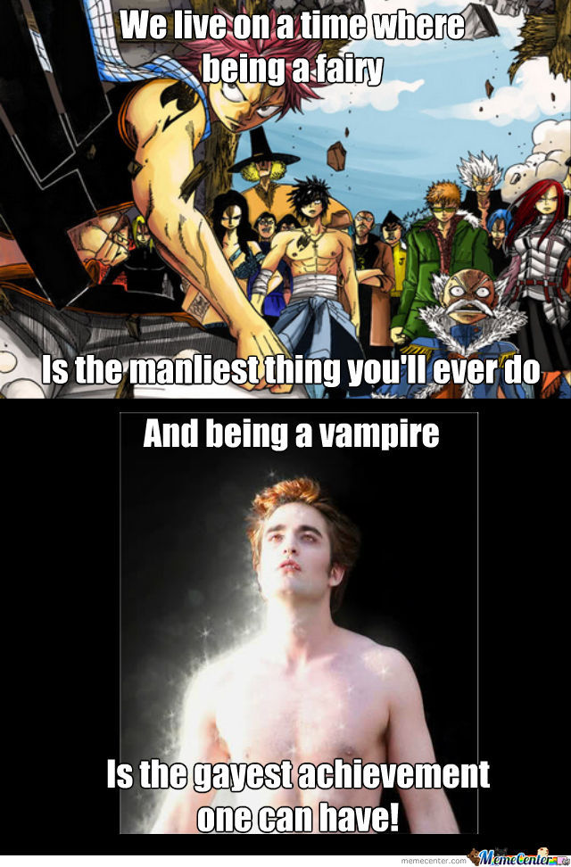 Back At My Days, Vampires Were Not Gay And Didn't Sparkle!