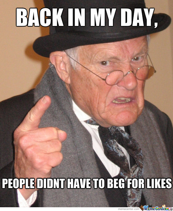 Back In My Day,