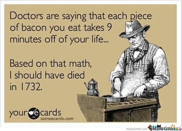 Bacon, Its Good For You
