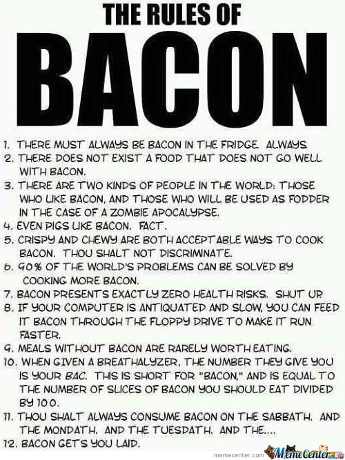 Bacon Rules