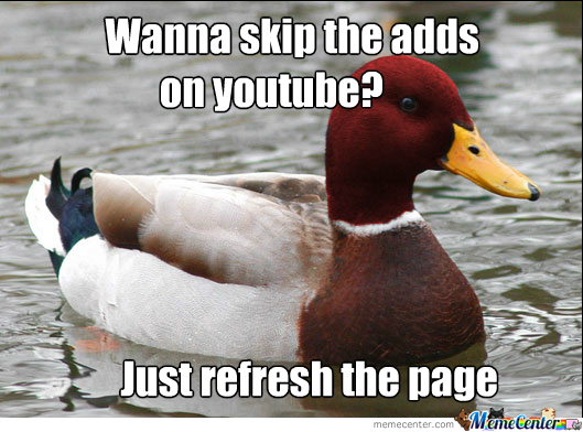 Bad Advice Duck