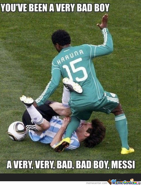 Bad Boy Messi... Bad Boy