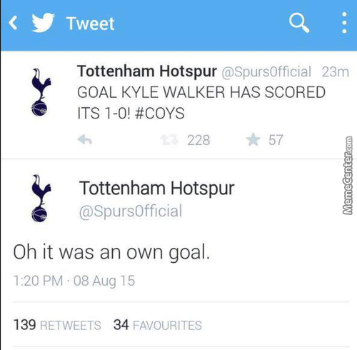 Bad Day For Kyle Walker And Tottenham