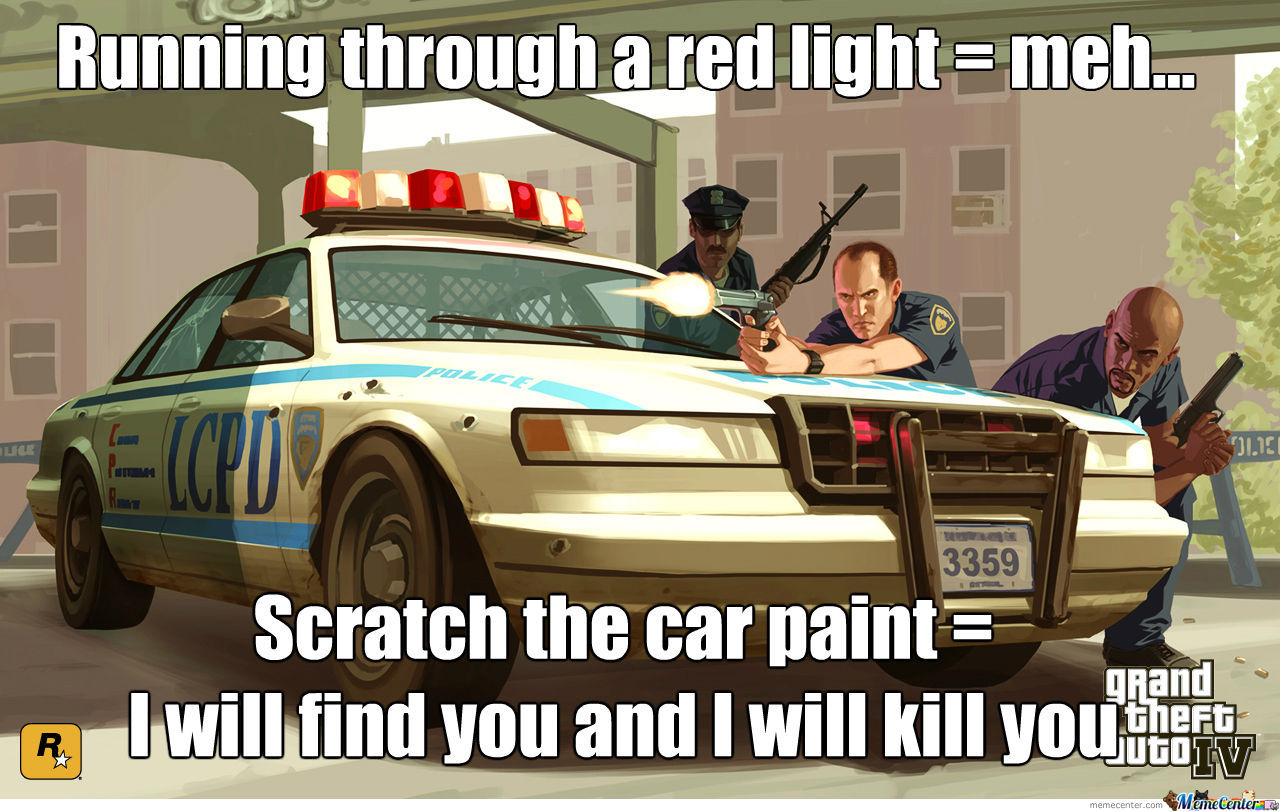 Bad Gta Police Logic