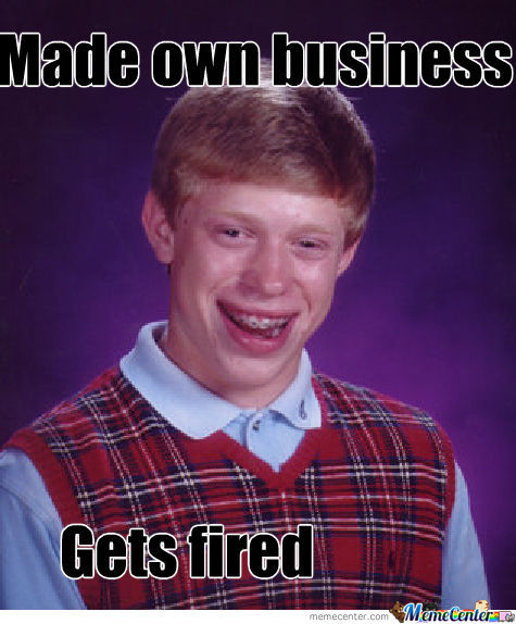 Bad Luck Brain And His Business