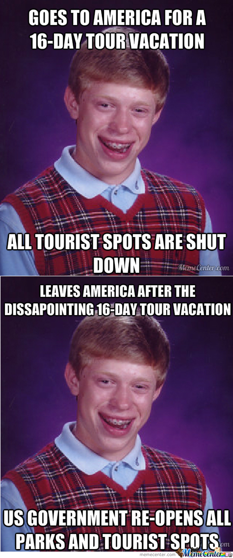 Bad Luck Brian's 'murican Vacation