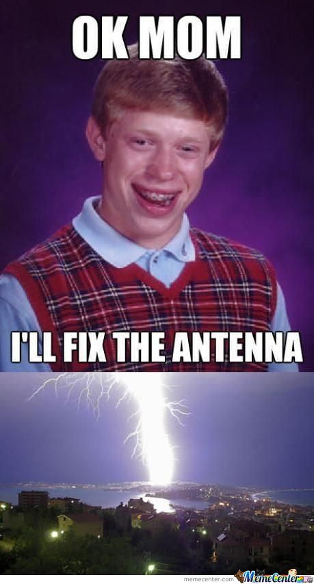 Bad Luck Brian And Weather