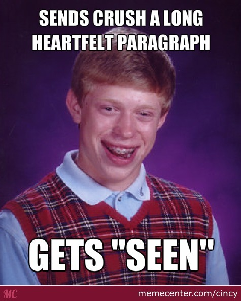 Bad Luck Brian At It's Finest