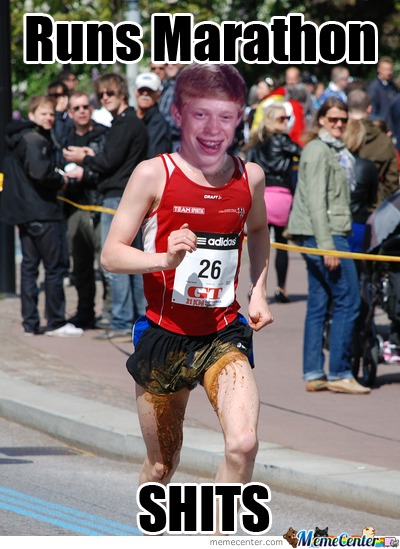 Bad Luck Brian At Marathon