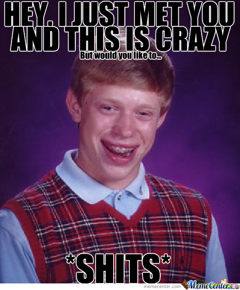 Bad Luck Brian, Bad Luck.