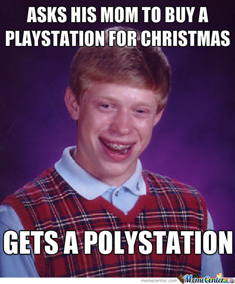 Bad Luck Brian Christmas Gift by clane - Meme Center