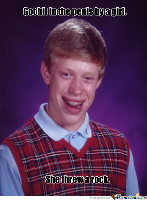Bad Luck Brian Finally