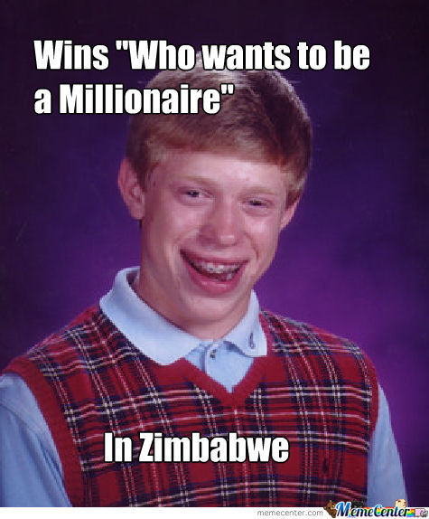 Bad Luck Brian Finally Wins