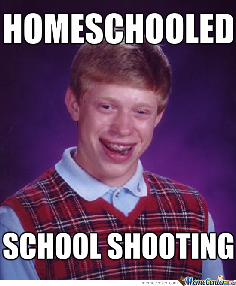 Bad Luck Brian Gets Homeschooled