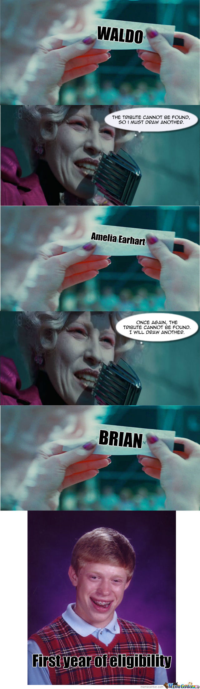 Bad Luck Brian: Hunger Games by saywhaaaat - Meme Center