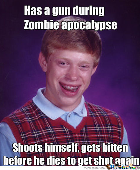 Bad Luck Brian Is Doing Smth. Wrong