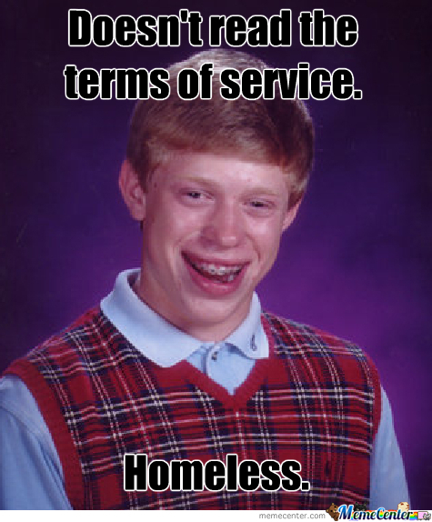 Bad Luck Brian (Not Shitting!)