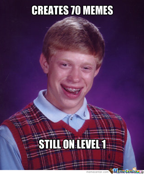 Bad Luck Brian On Memecenter