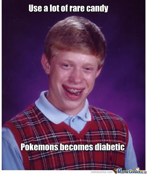 Bad Luck Brian Pokemon