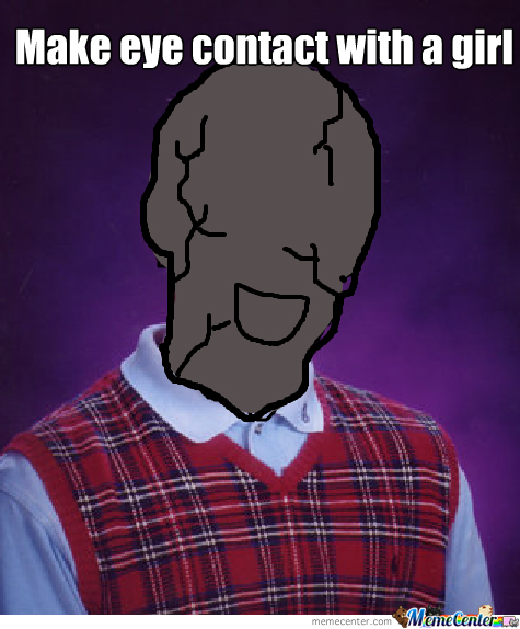 Bad Luck Brian Statue
