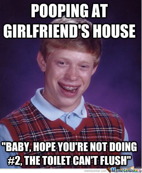 Bad Luck Brian Strikes Again...
