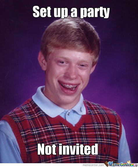 Bad Luck Bryan As Usual