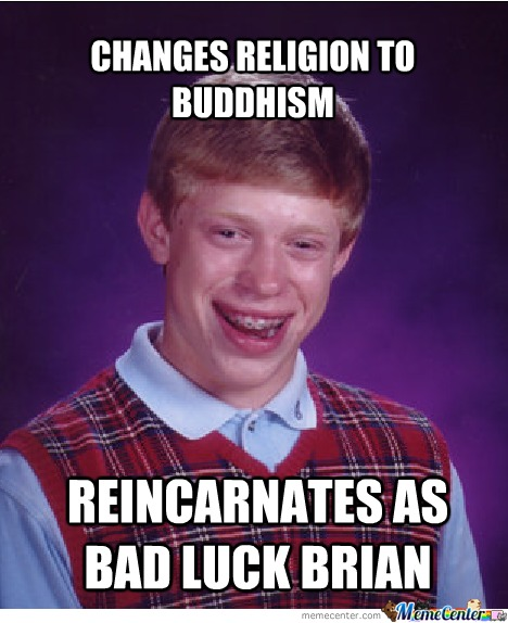 Bad Luck Buddhism