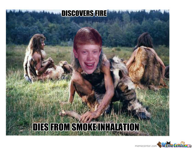 Bad Luck Caveman