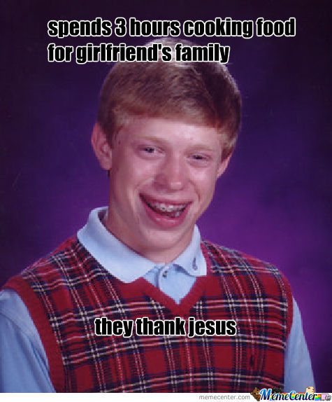 Bad Luck Cook