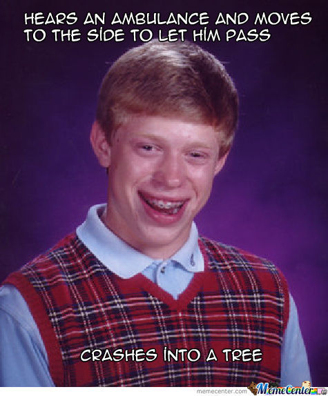 Bad Luck I Guess