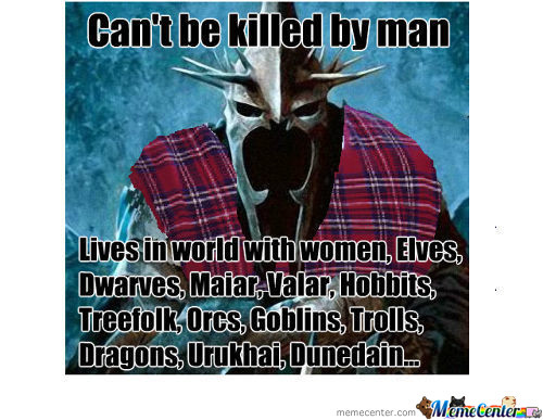 Bad Luck King Of Angmar