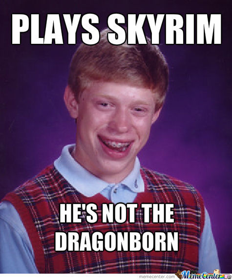 Bad Luck Skyrim