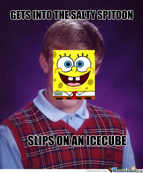 Bad Luck Spongebob