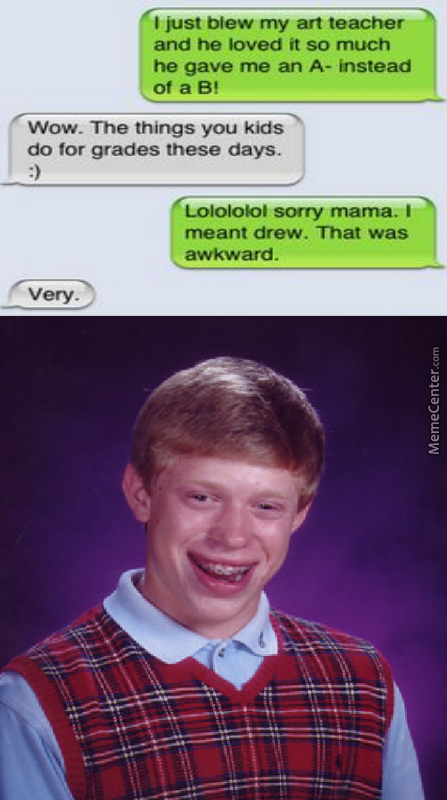Bad Luck Texting