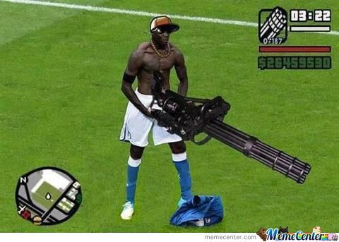 Balotelli Is San Adreas
