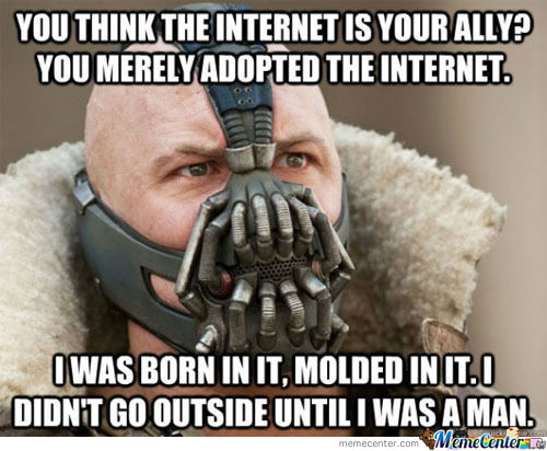 Bane Is One Of Us