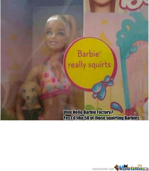 Barbie Really Squirts