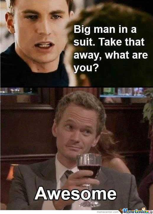 Barney Stinston Is Just Awesome