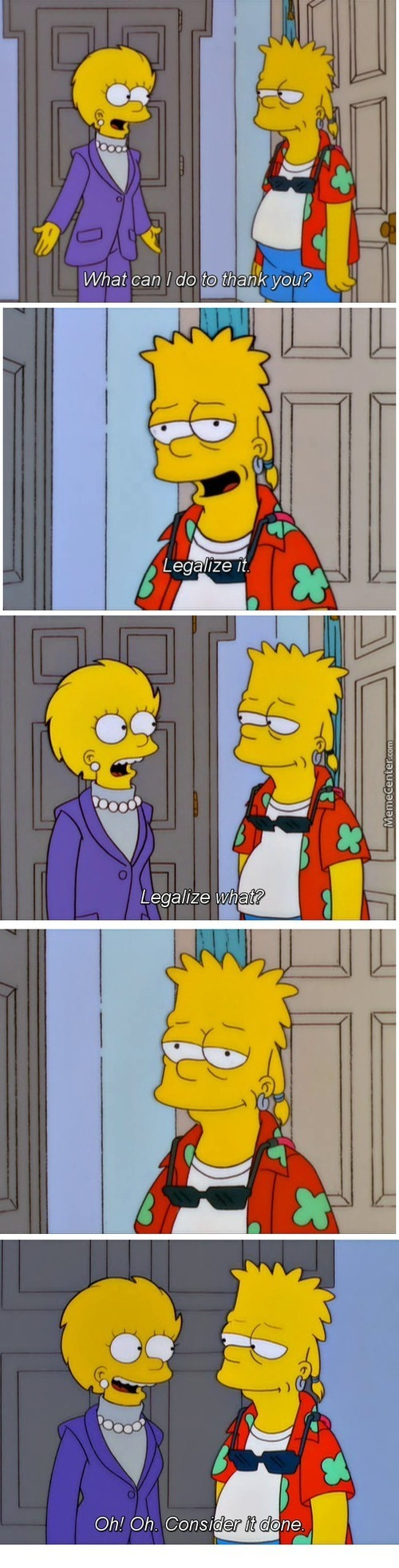 Bart Knows Whats The Best For Ppl