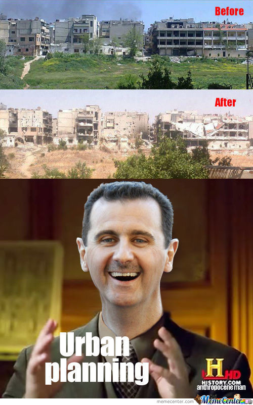 Bashar Al-Assad's Urban Planning