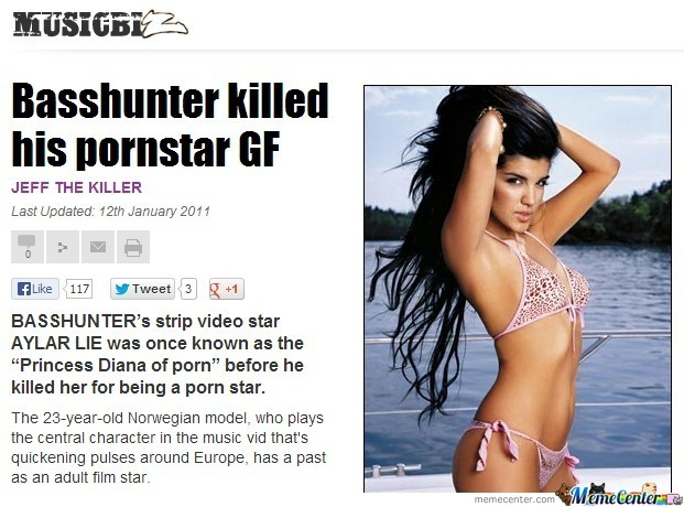 Basshunter girl ex pornstar 2