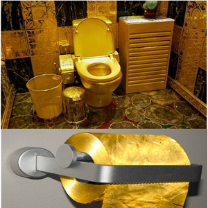 toilet made of gold.  Bathroom Made Of Gold by Kavalok Meme Center