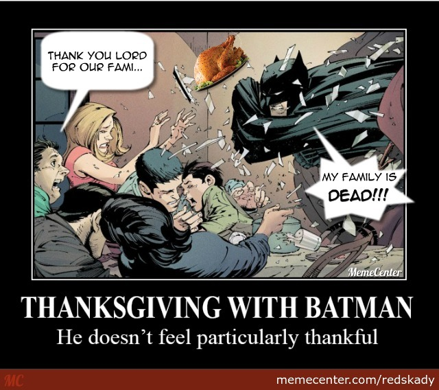 Batman's Thanksgiving