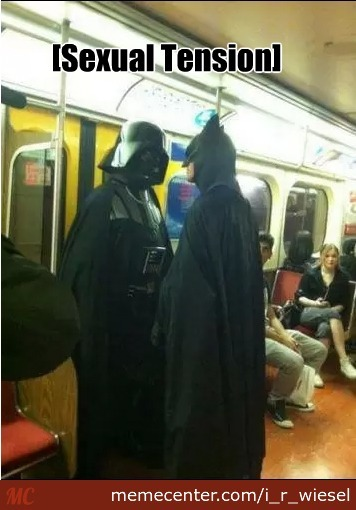 Batman And Darth Vader