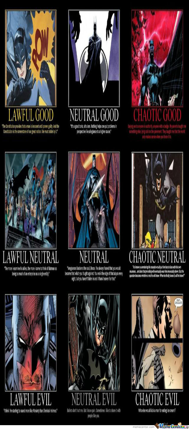 Batman Different Phases